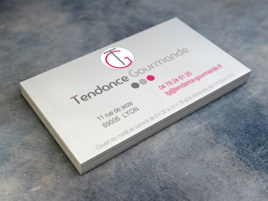 Carte De Visite Tendance Gourmande